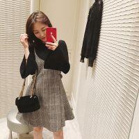 秋冬新款纯色气质chic高领毛衣女套头韩版长袖打底