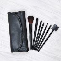 7支化妆刷黑色 速卖通爆款 化妆工具套装 现货 7支黑色美妆套装