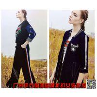 魅之女潮牌女装品牌折扣店货源广州批发市场在哪