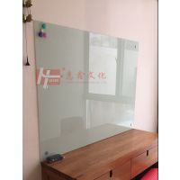 深圳挂式玻璃白板Z湛江单面挂式磁性白板H河源家教办公书写板
