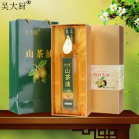 吴大厨山茶油500ml纯正茶籽油食用油月子油聪明油礼盒装
