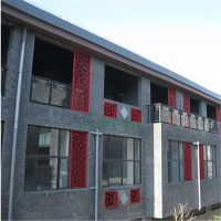 街道翻新改造铝窗花厂家优惠订货价格