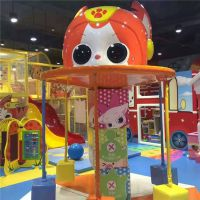 淘气堡室内游乐设备室内儿童游乐场百万海洋球池商场儿童滑梯新款