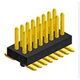 精时代0.8mm排针,直插板、弯插板、SMT表贴板,特殊连接器