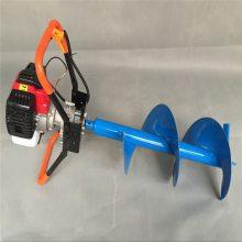 设计合理挖坑机 移栽树木打眼机 新型四轮带动钻洞机