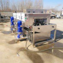 厂家直供周转箱清洗机,汇康全自动洗筐机