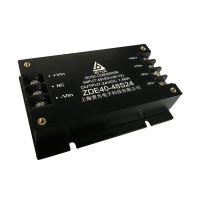 上海责允电源36-72V入12VDC输出,75W端子式DCDC模块电源,16mm超薄型电源模块
