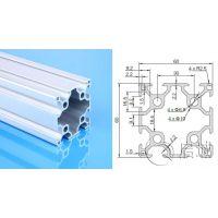 铝型材厂家现货直销欧标6090双槽工业铝型材流水线铝合金型材