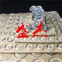 透明胶垫 透明橡胶垫 透明防滑垫 硅胶防滑垫  自粘防滑垫