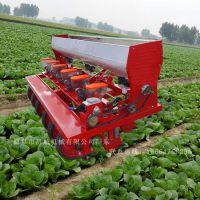 启航拖拉机带6行香菜播种机 一次一粒高粱精播机 谷子播种机厂家