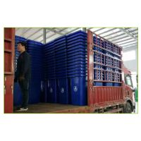 沧州绿美供应加厚全新料户外垃圾桶 塑料工业带盖带轮垃圾箱 河北厂家批发