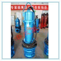 潜水式混流潜水泵 应急排水排涝泵 斜拉式卧式安装混流泵