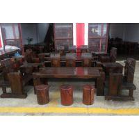 船木家具沙发4件套,船木家具公司供应老船木家具沙发现货