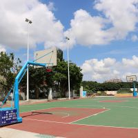 惠州篮球架预埋件 篮球架的标准尺寸是多少 柏克批发零售SMC板球架