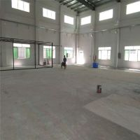 惠城龙丰水泥硬化施工-水口车间地面起灰无尘固化-三栋地坪硬化翻新