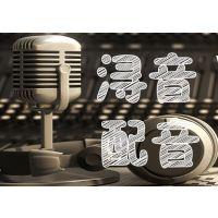 专题宣传片广告录音多媒体专业男声配音服务女声语音地摊叫卖促销