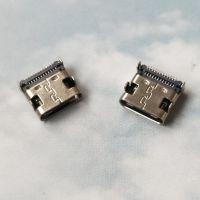 TYPE-C母座 24P双排贴片SMT~四脚DIP插件(满P板上TYPE-C插座)