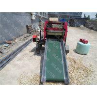 有效提高产量青储打包机 农作物冬天饲草保鲜机