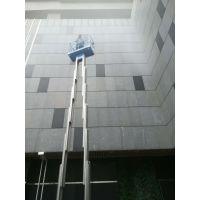 深圳铝合金式升降机,深圳小学校灯具安装升降平台