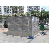 无锡精一泓扬厂家加工定做组合式焊接不锈钢保温水箱