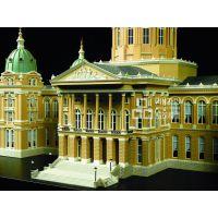 俄罗斯圣彼得堡酒店1:150专业沙盘建筑房地产柜内***有影响力的公司
