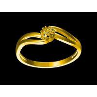 白铜镀金镶嵌金水菩提戒指加工 金戒指多重 —玛瑙饰品定做厂家