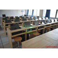 科桌 翻转电脑桌直销 机房用电脑桌 多媒体教室课桌 板式简约现代