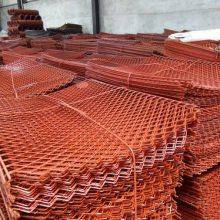 宜昌菱形钢笆片厂家专供:0.8*1.2米喷漆钢笆网片库存现货