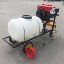 花圃汽油喷雾器 果树汽油喷雾器 圣鲁牌