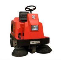北海电动扫地车清扫灰尘道路落叶保洁员用驾驶式扫地车工业化清洁设备