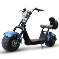 X5哈雷车大轮宽胎电动车两轮成人双人电瓶车哈雷电动车电动摩托