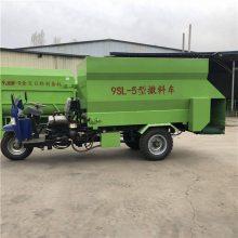 养殖投料车型号 适合养殖使用的饲料投料车 润丰