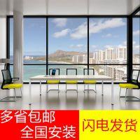 广州办公家具会议桌板式办公会议台6人12人会议桌厂价直销