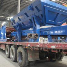 桂林68万投建铁路用设备-移动破碎机