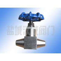 精品展示不锈钢J61Y-320P焊接式高压截止阀-盐城汉威阀门