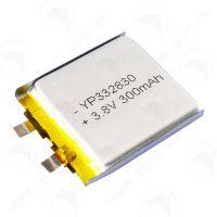 高电压聚合物锂电池332830 3.8V 300mAh特种电池