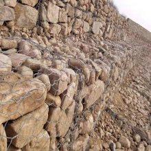 湖南长沙镀锌覆塑铅丝笼,石笼护坡,生态石笼网