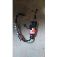 徐工xc220压路机配件上柴发动机停油电磁铁