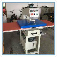液压热转印机服装T恤油压压烫机械 40*60cm平面双工位烤花机40*60cm烫画机