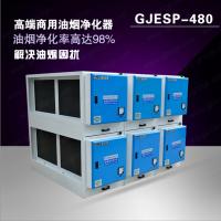 房地产油烟净化器 低空48000风量 静电分离器 环保认证