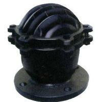 创海阀门H42X-10法兰底阀 止回式水泵专用底阀 升降立式橡胶阀