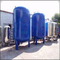 台前县A3碳钢材前置水处理机械过滤器地下深井水净化砂滤罐清又清销售
