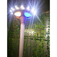 世纪阳光照明一体化人体感应庭院灯若日15WUFOLED防水照明灯