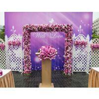 婚庆路引鲜花司仪花结婚场地鲜花布置15296564995南宁市婚礼鲜花定制