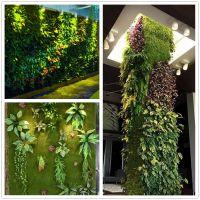 长沙植物墙设计商场绿植墙施工安装选长沙观宇