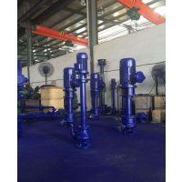 立式排污水泵65YW25-15-2.2无堵塞液下式排污泵耐腐蚀泵立式液下泵