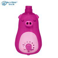 酷宁制造【 粉色小猪猪加湿器】房间专用,水箱容量1升以下,出雾口数2个