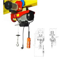 Mini Electric Wire Rope Hoist with Trolley