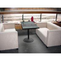 武汉专业餐饮家具/网吧沙发椅/网吧专用沙发/四连体餐桌椅报价
