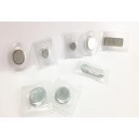 铁壳磁铁 PVC单面磁石 透明塑料包胶对吸磁铁扣 D12 15 18 20 25*2 2.5 3